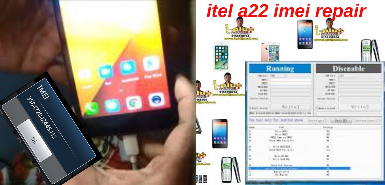 itel a22 imei repair - GSM FORUM TECH itel a22 imei repair