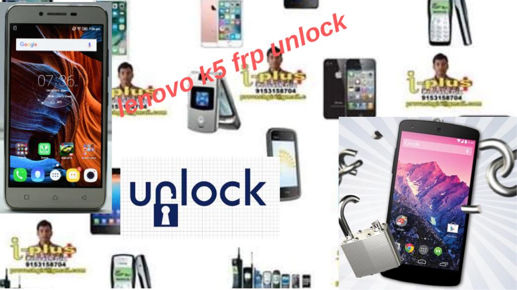 lenovo k5 frp unlock