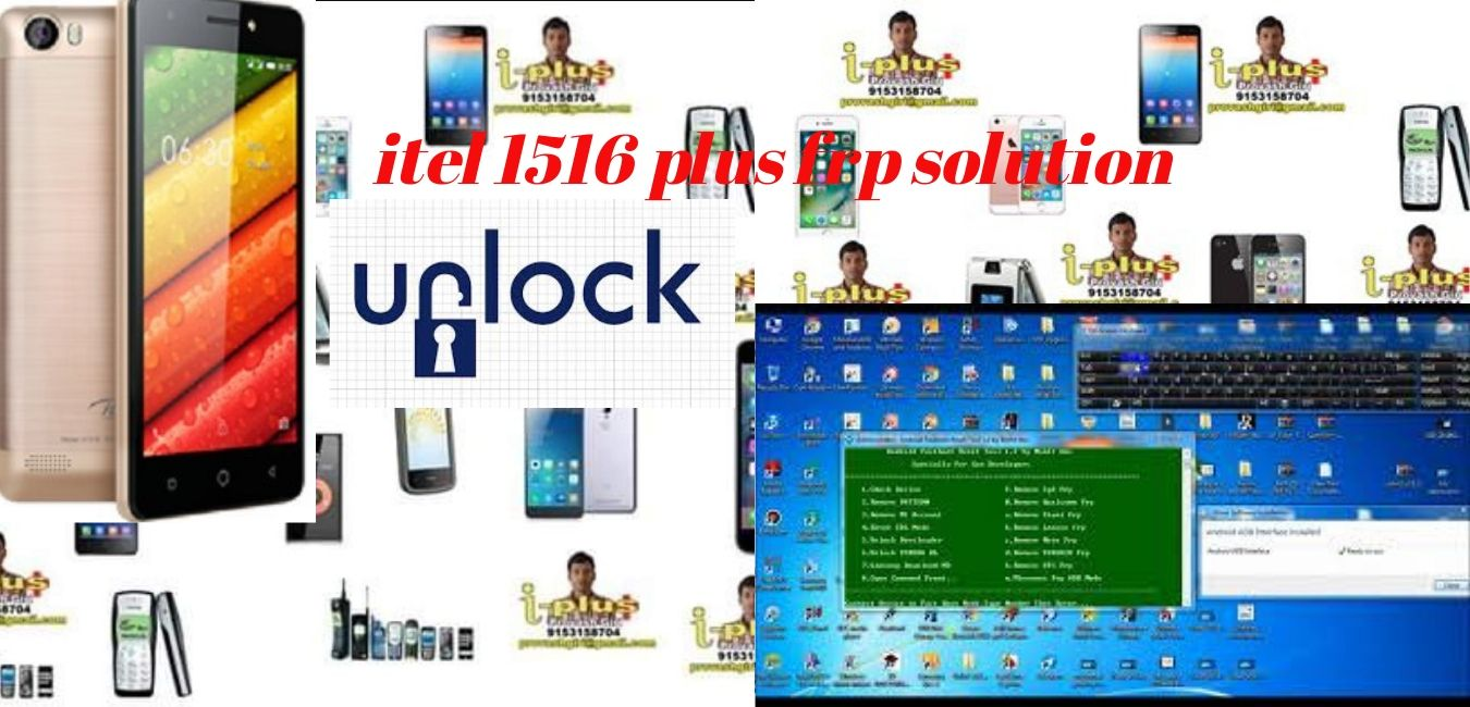 itel 1516 plus frp unlock - GSM FORUM TECH itel 1516 plus frp unlock
