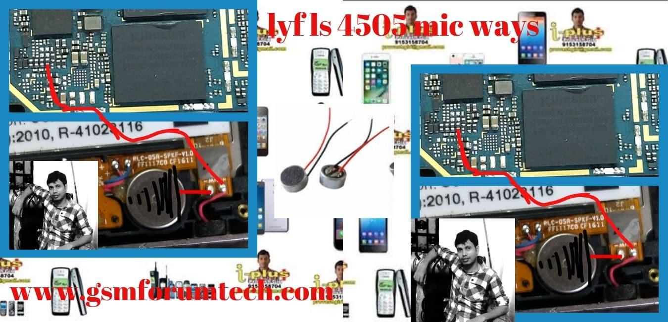 lyf ls 4505 mic ways