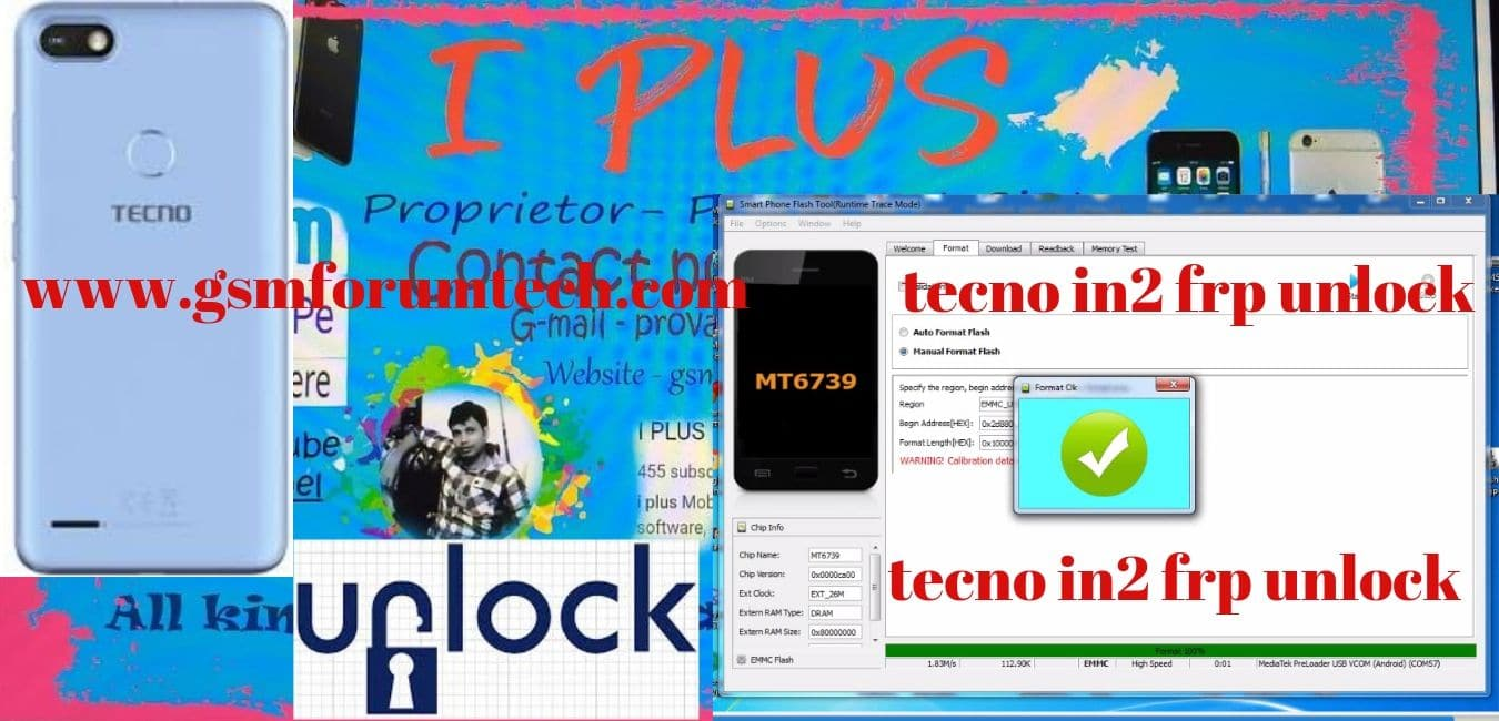 tecno in2 frp unlock