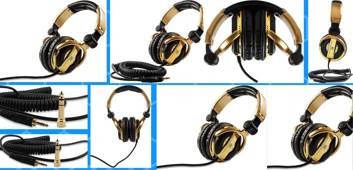 OSL XSW 7X Professional DJ Headphones