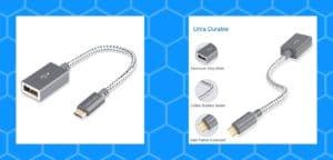 Micro USB 2.0 OTG Cable