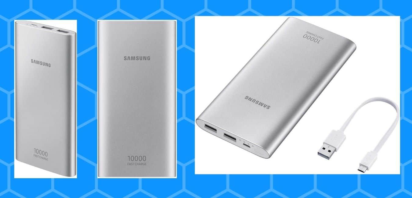 Samsung EB-P1100BSNGIN 10000mAH Lithium Ion Power Bank (Silver)