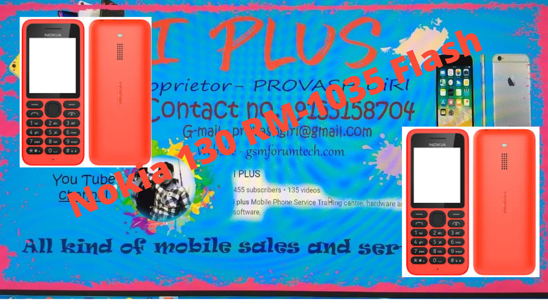Nokia 130 RM-1035 Flash