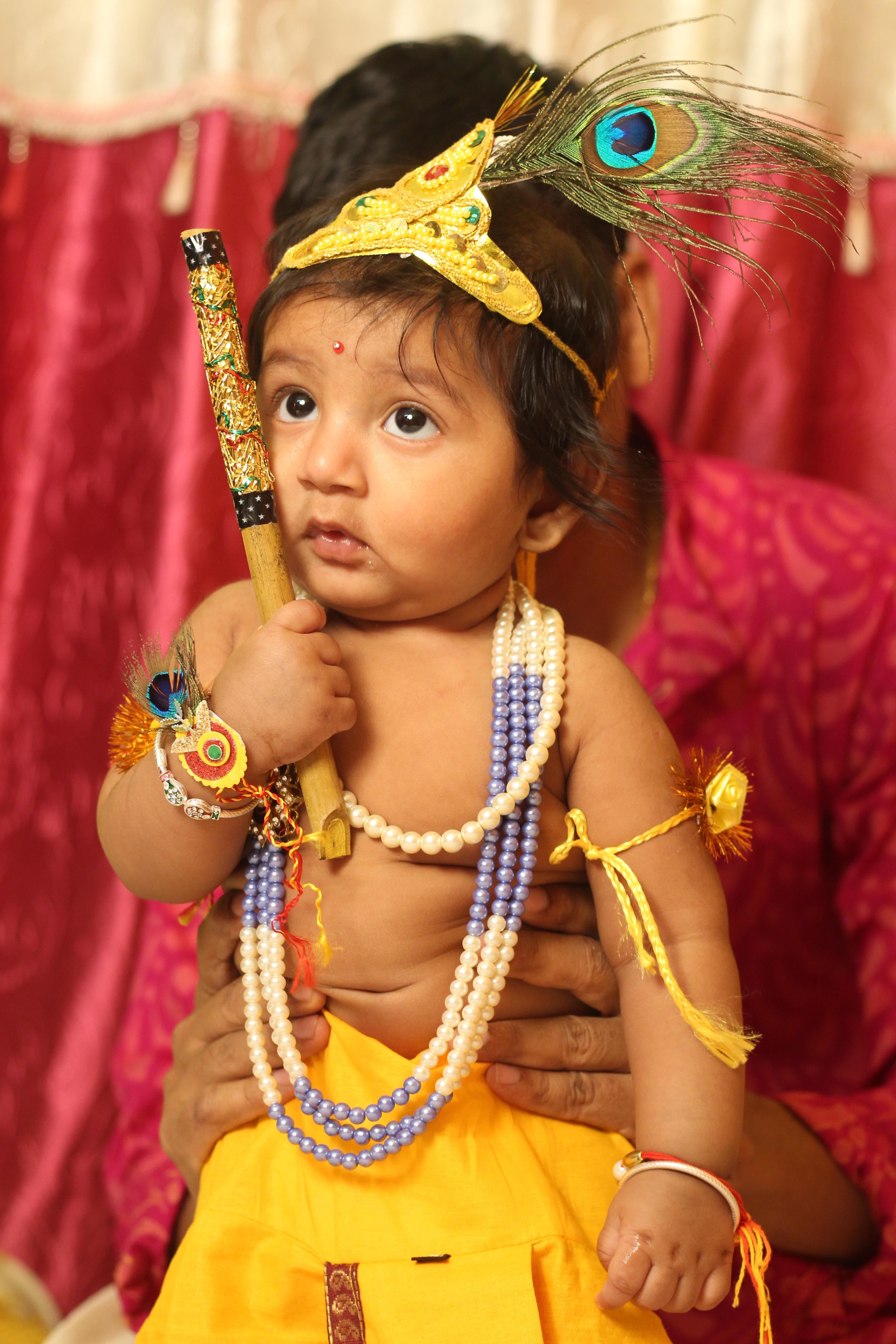 krishna look for boy